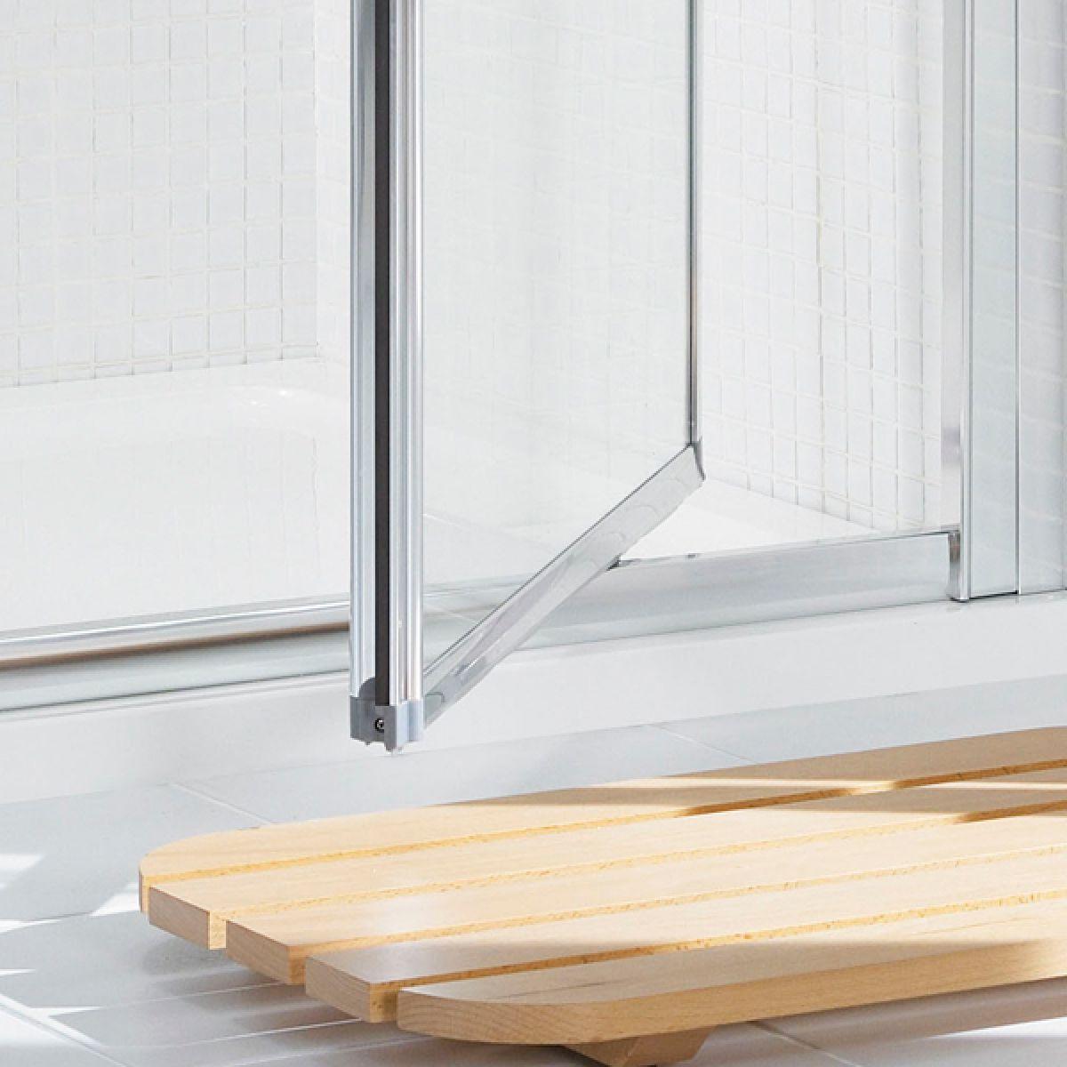 Lakes Classic Silver Pivot Shower Door