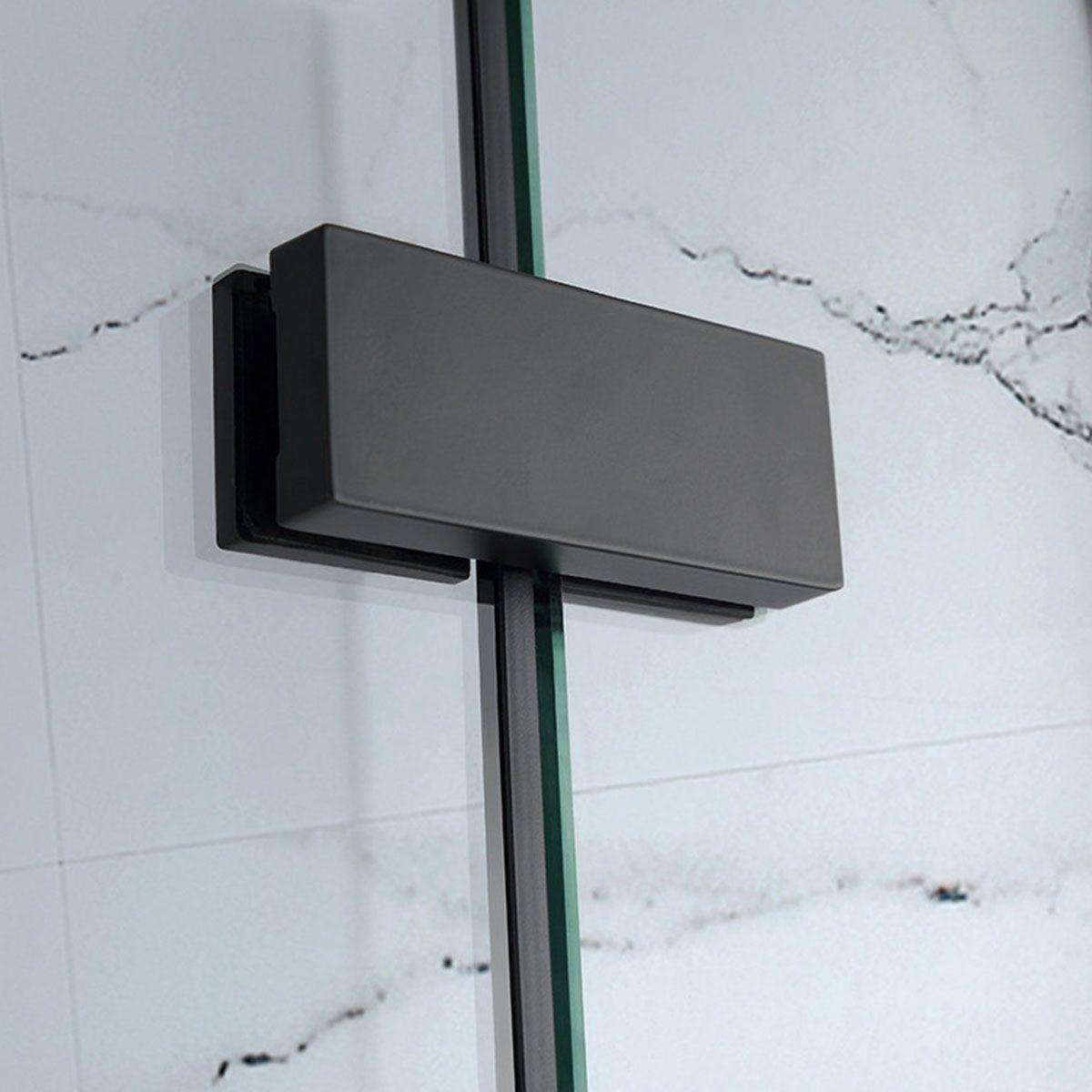 Frontline Aquaglass Onyx Black Hinged Shower Enclosure Hinge