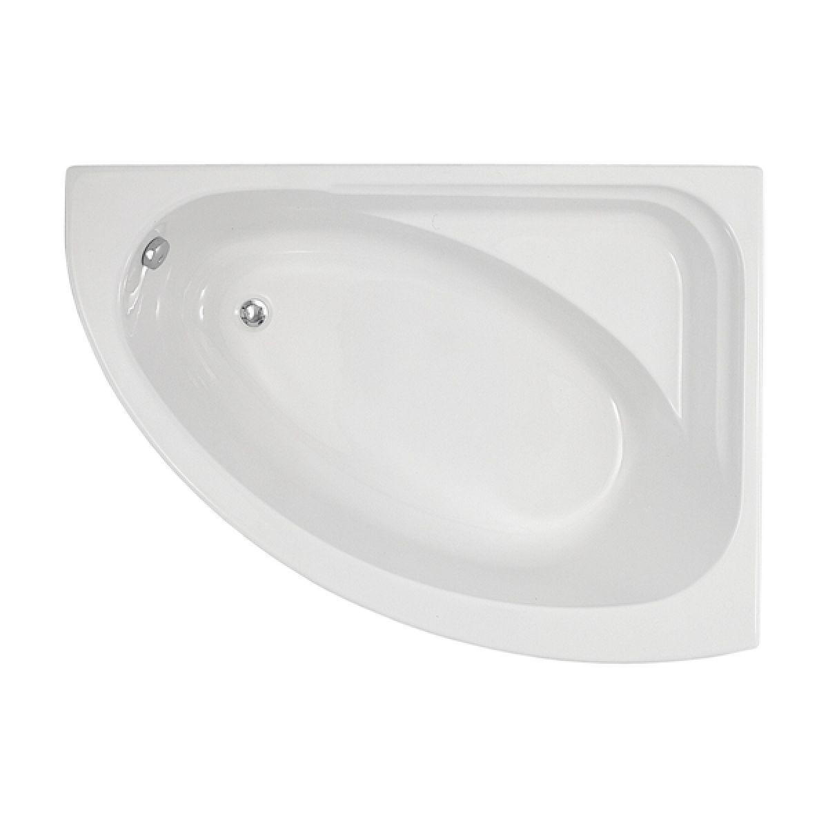Frontline Orlah Luxury Offset Corner Bath - Right Hand
