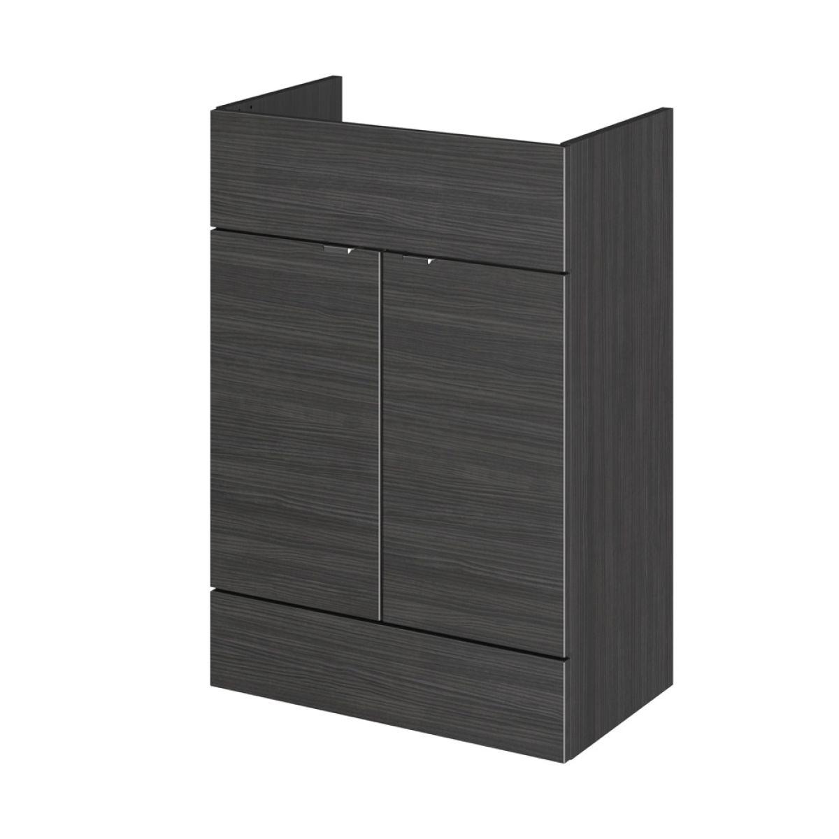 Hudson Reed Fusion Hacienda Black Full Depth Storage Furniture Pack 1500mm