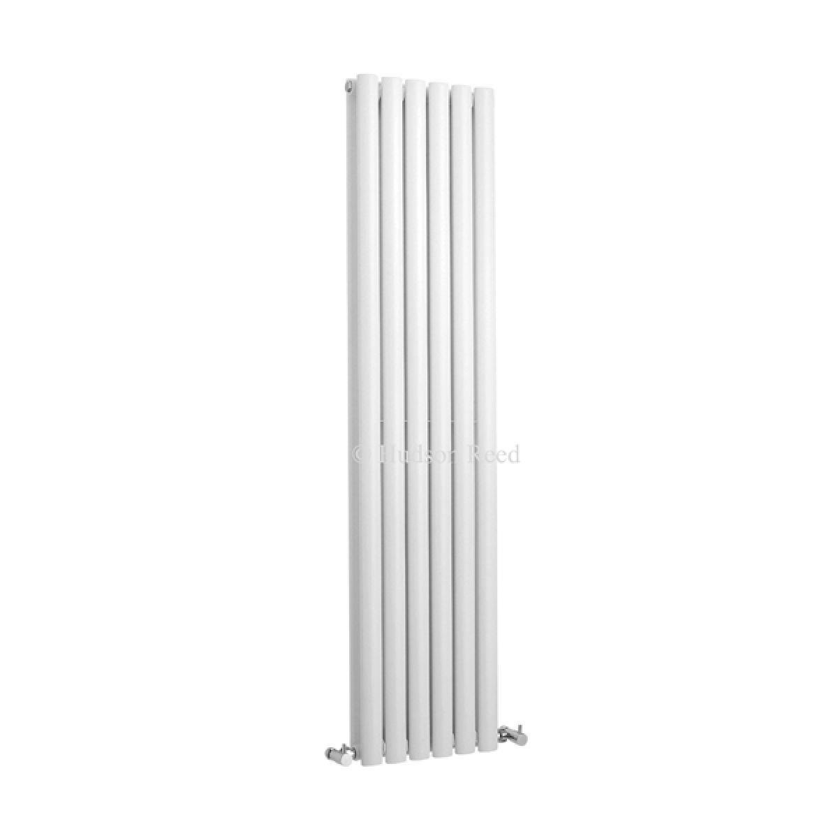 Hudson Reed Revive High Gloss White Vertical Double Panel Designer Radiator
