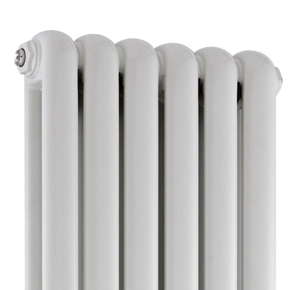Hudson Reed Salvia White Double Panel Column Designer Radiator