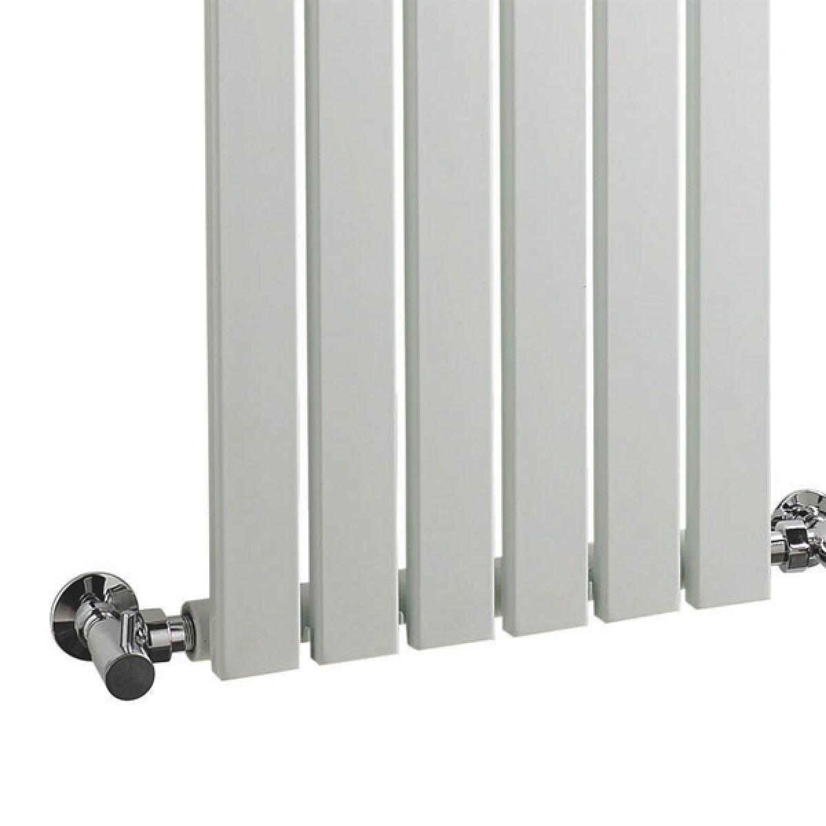Hudson Reed Sloane High Gloss White Single Panel Designer Radiator