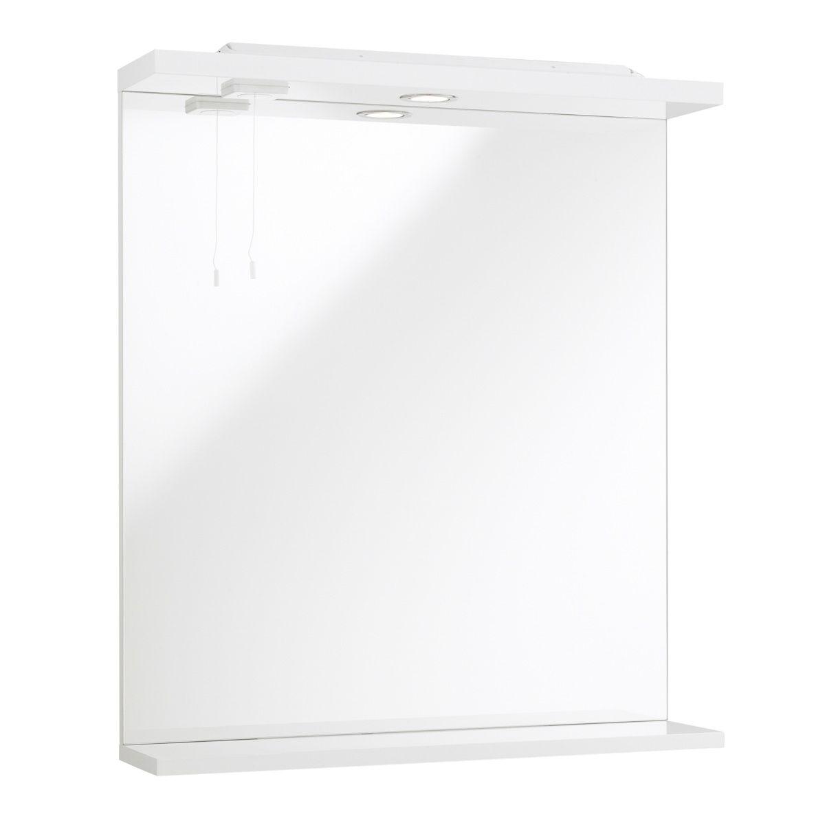 Kartell Impakt Mirror and Light 550mm
