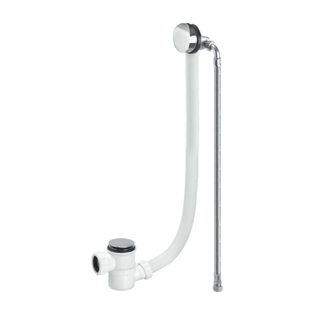 McAlpine HC2650UK-FIL-1M Chrome Plated Brass Bath Filler and Overflow