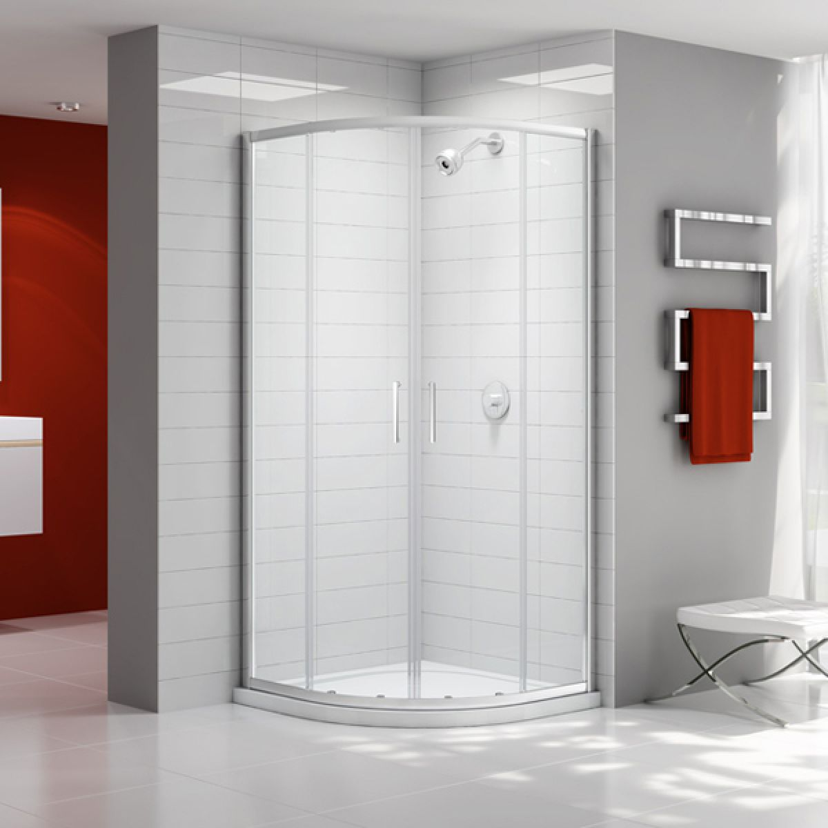 Merlyn Ionic Express Double Door Quadrant Shower Enclosure