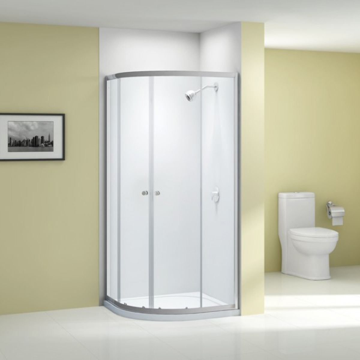 Merlyn Ionic Source Double Door Quadrant Shower Enclosure