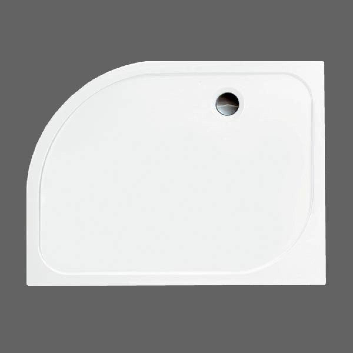 Merlyn MStone Offset Quadrant Shower Tray Right Hand 1000 x 800mm