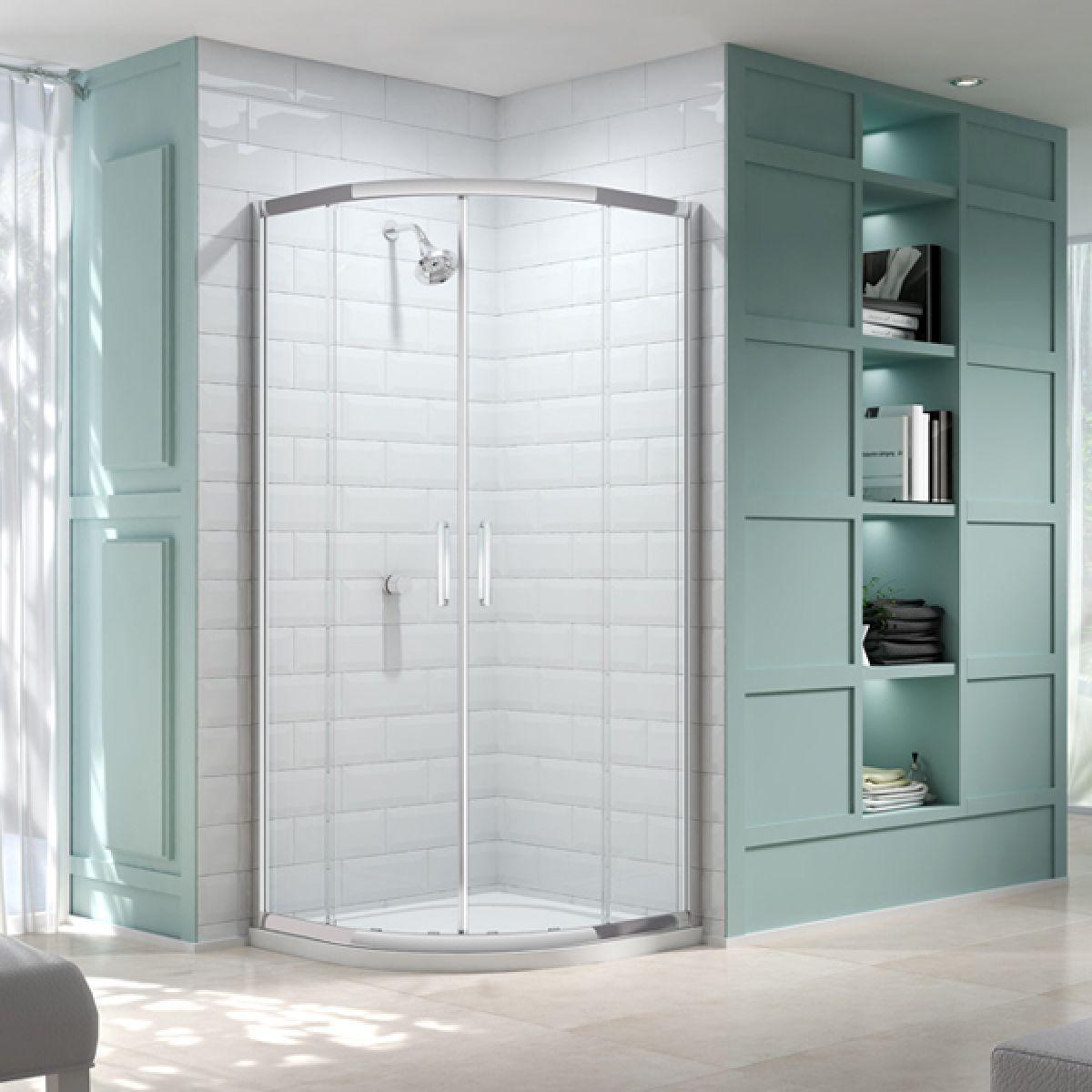 Merlyn Series 8 Double Door Quadrant Shower Enclosure