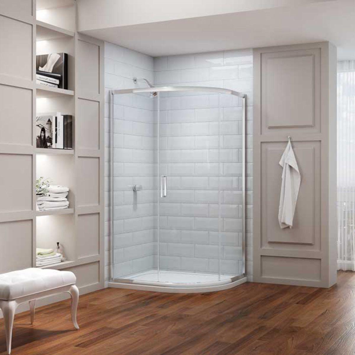 Merlyn Series 8 Offset Quadrant Shower Enclosure