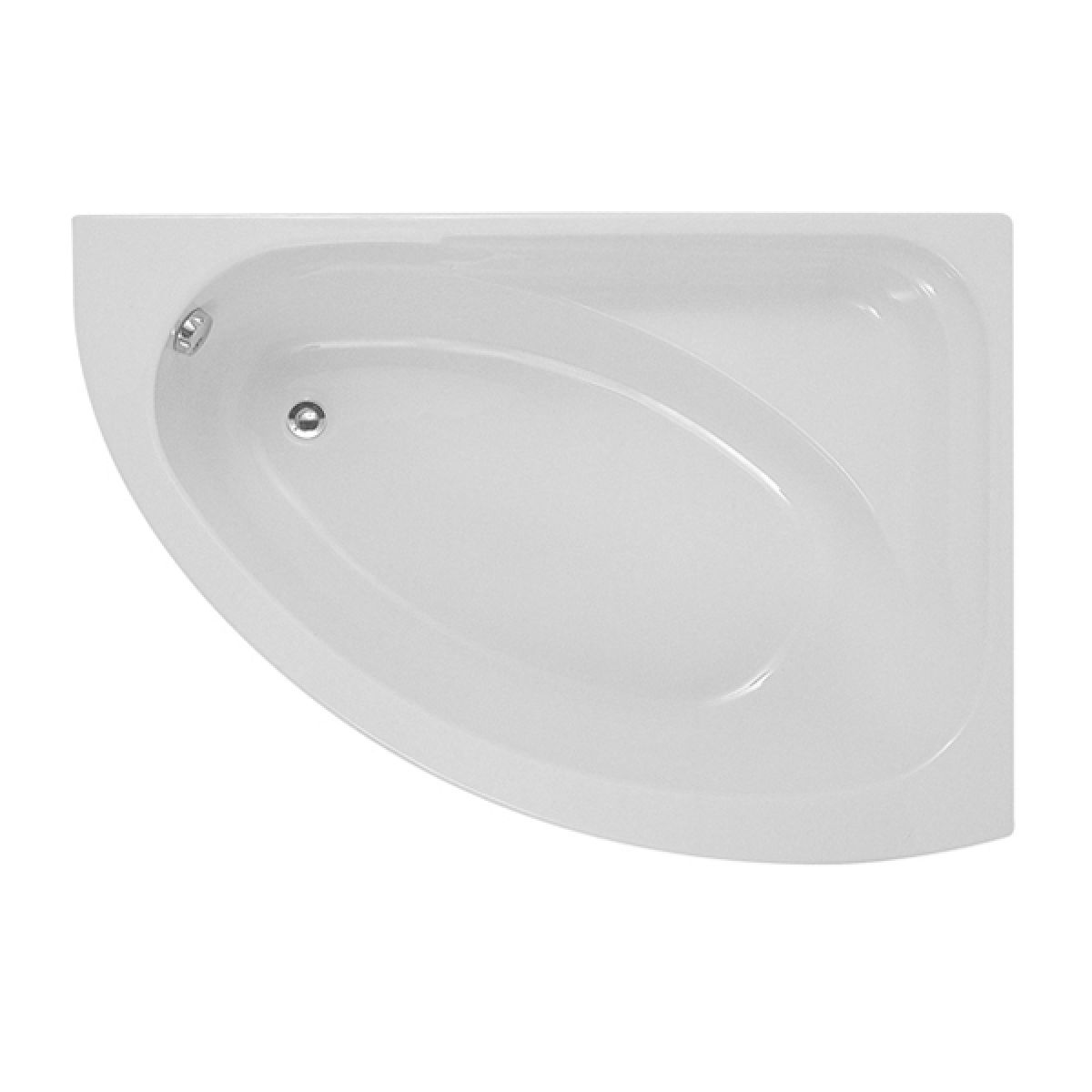 Moods Orlando Luxury Right Handed Corner Bath 1495 x 1010mm