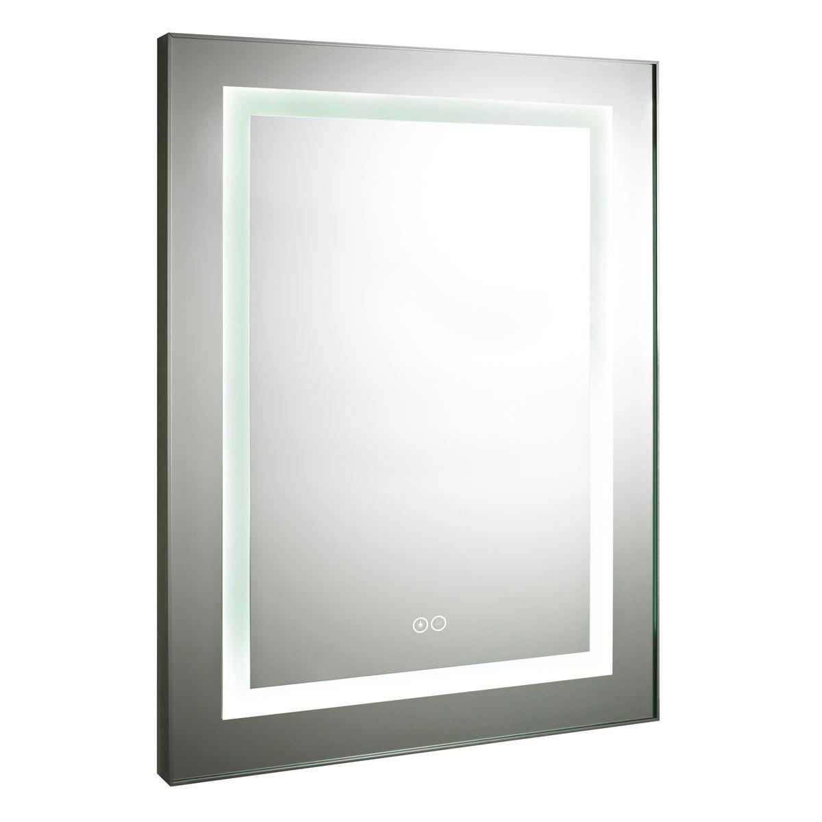 Nuie Level Touch Sensor Backlit Bathroom Mirror 800 x 600mm