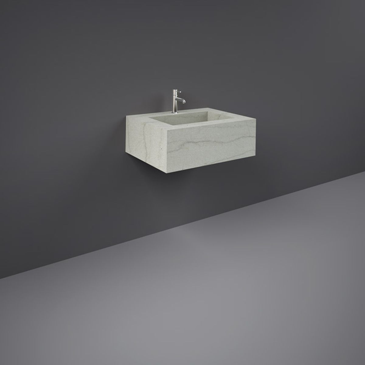 RAK Precious Macaubus Wall Hung Counter Basin with Bracket