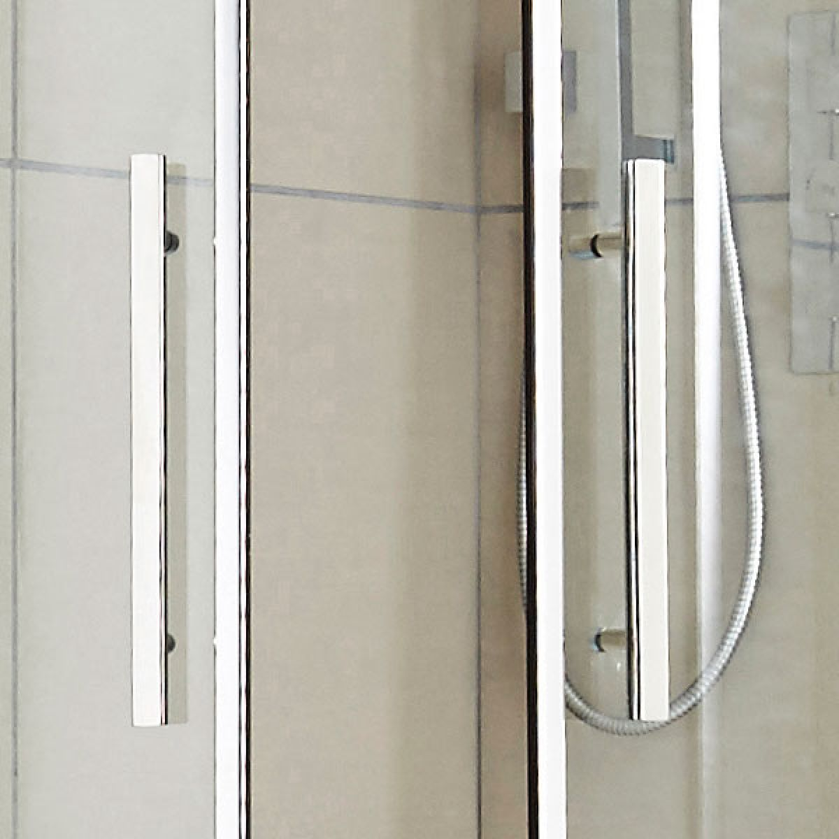 Hudson Reed Apex Offset Quadrant Double Door Shower Enclosure - Handles