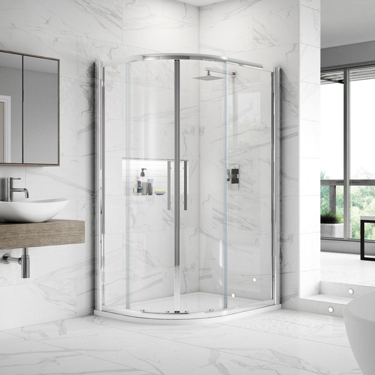 Hudson Reed Apex Offset Quadrant Shower Enclosure