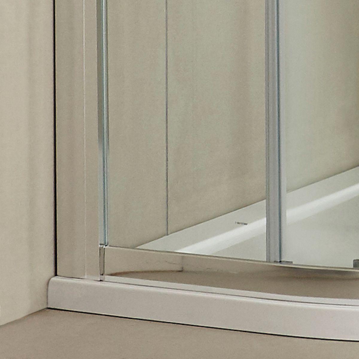 Hudson Reed Apex Quadrant Double Door Shower Enclosure - Frame