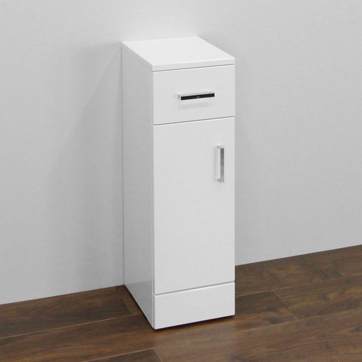 Premier High Gloss White Storage Cupboard