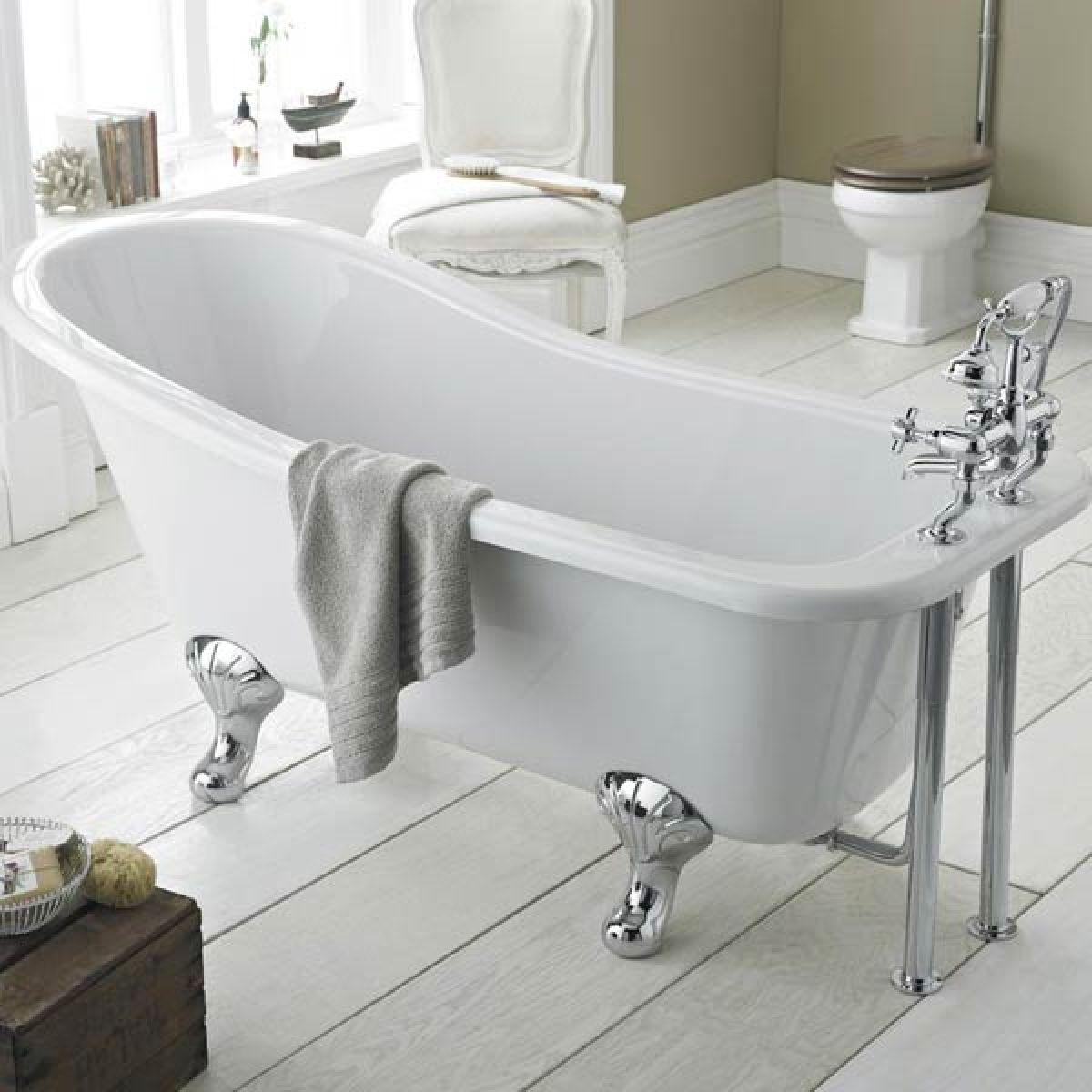 Premier Kensington Freestanding Slipper Bath with Leg Set Lifestyle