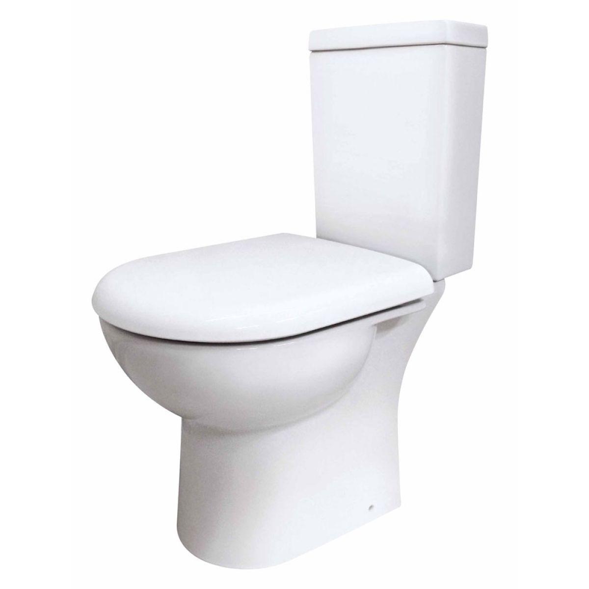 Premier Knedlington Short Projection Toilet with Soft Close Seat