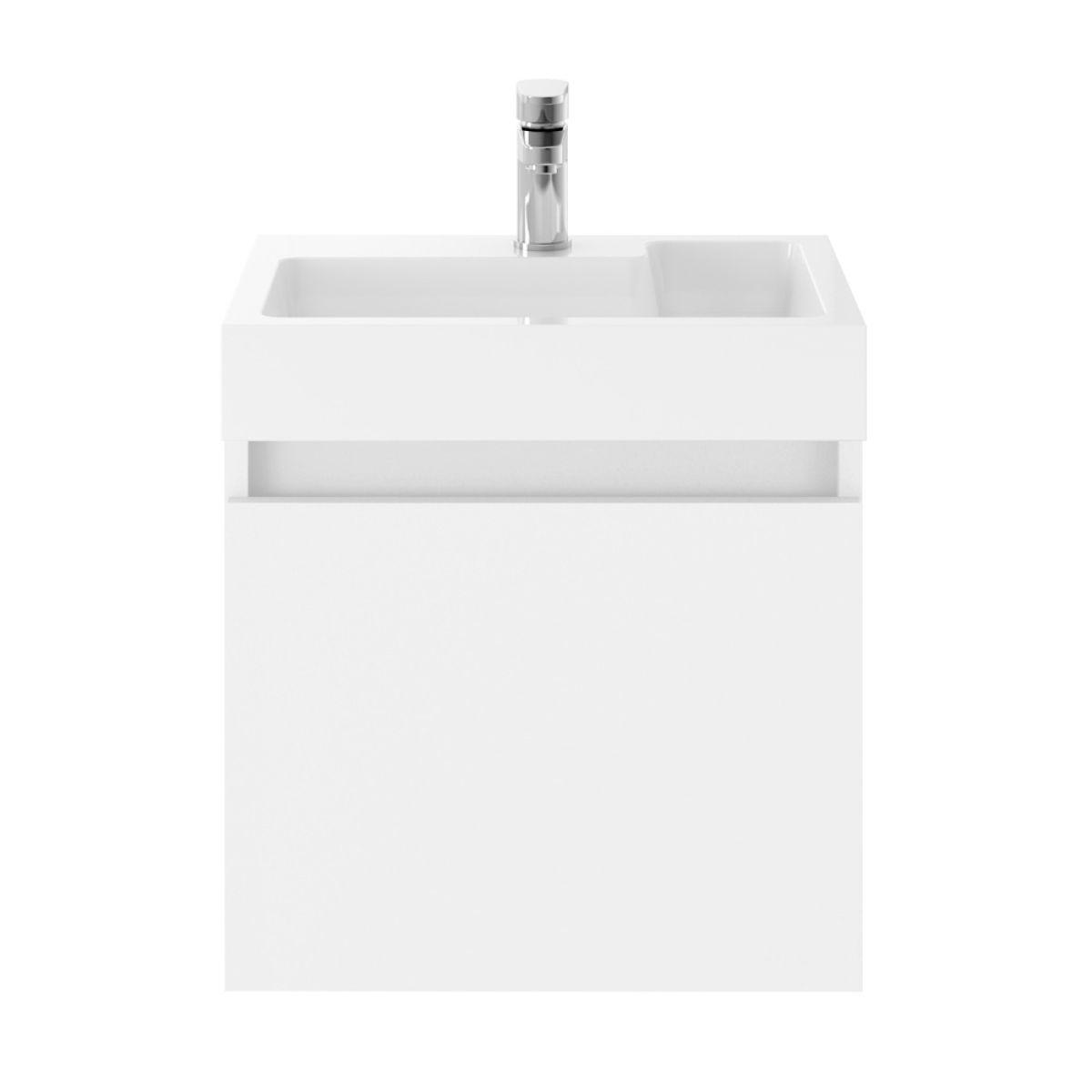 Premier Merit Gloss White Vanity Unit 500mm