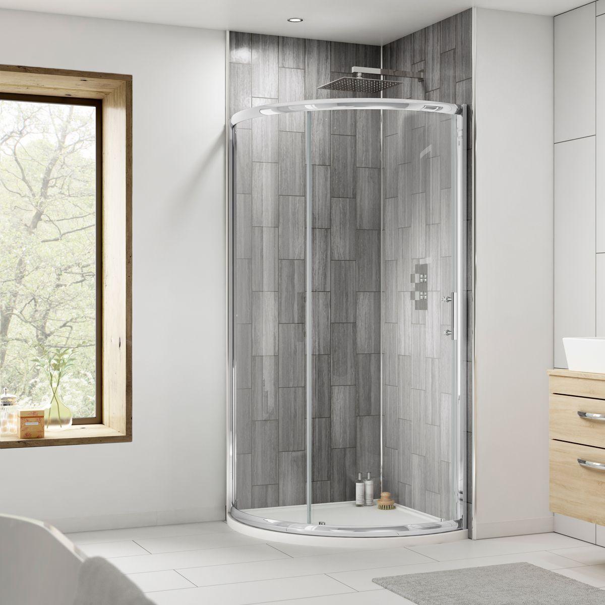 Premier Pacific Single Door Quadrant Shower Enclosure