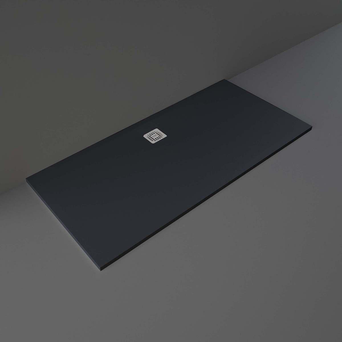 RAK Feeling Black Rectangular Shower Tray 1700 x 800mm