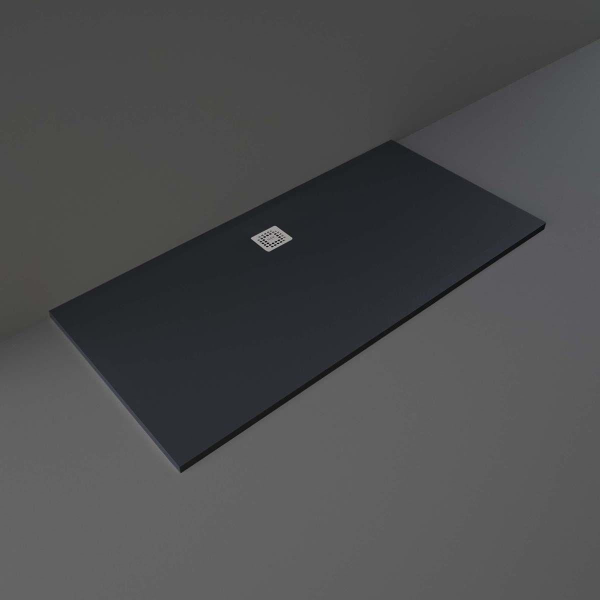RAK Feeling Black Rectangular Shower Tray 1700 x 900mm