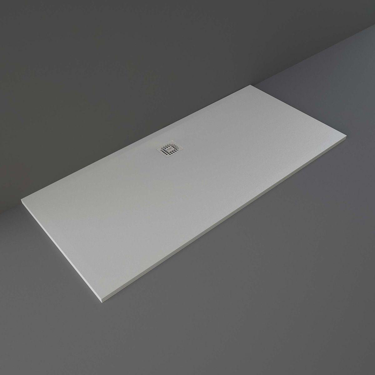 RAK Feeling Grey Rectangular Shower Tray 1800 x 800mm