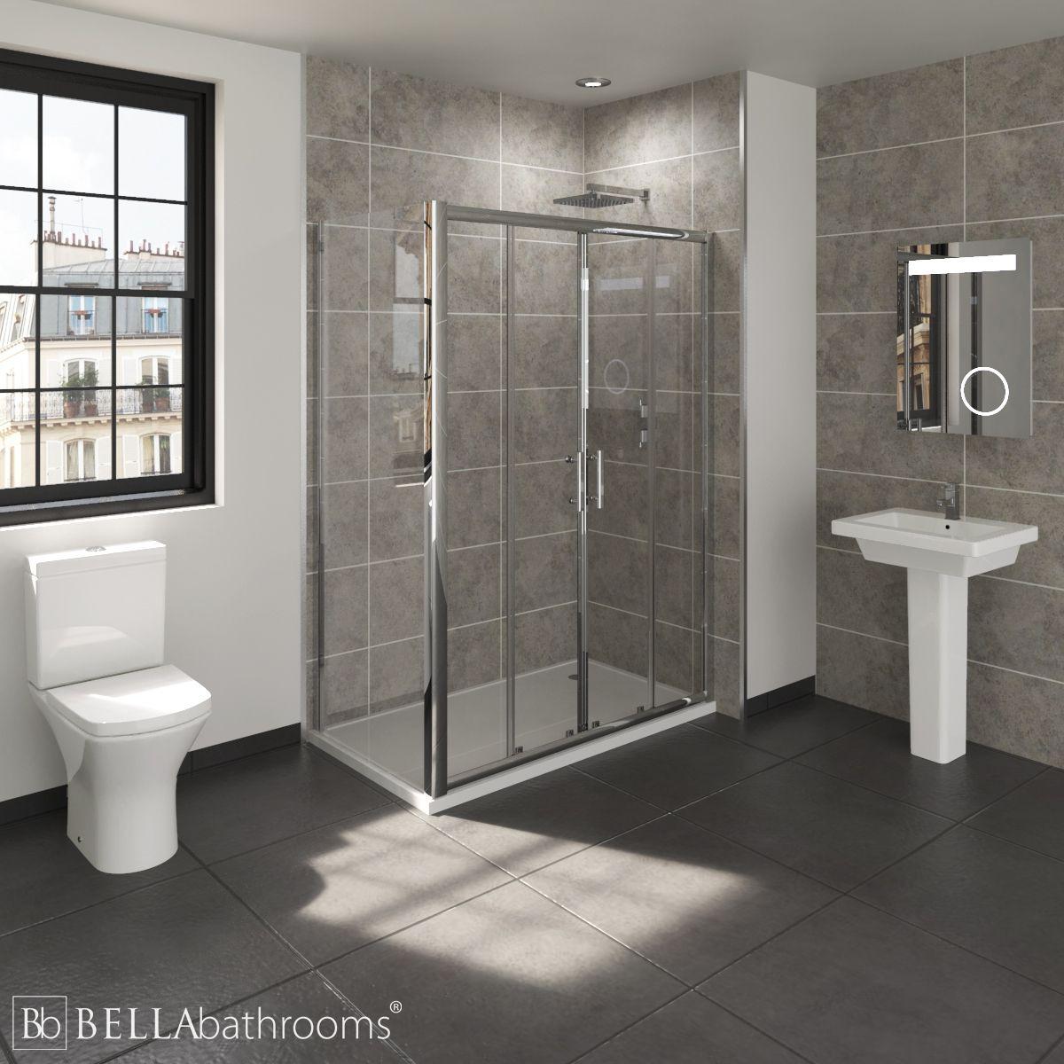 RAK Resort En-Suite with Double Sliding Door Shower Enclosure