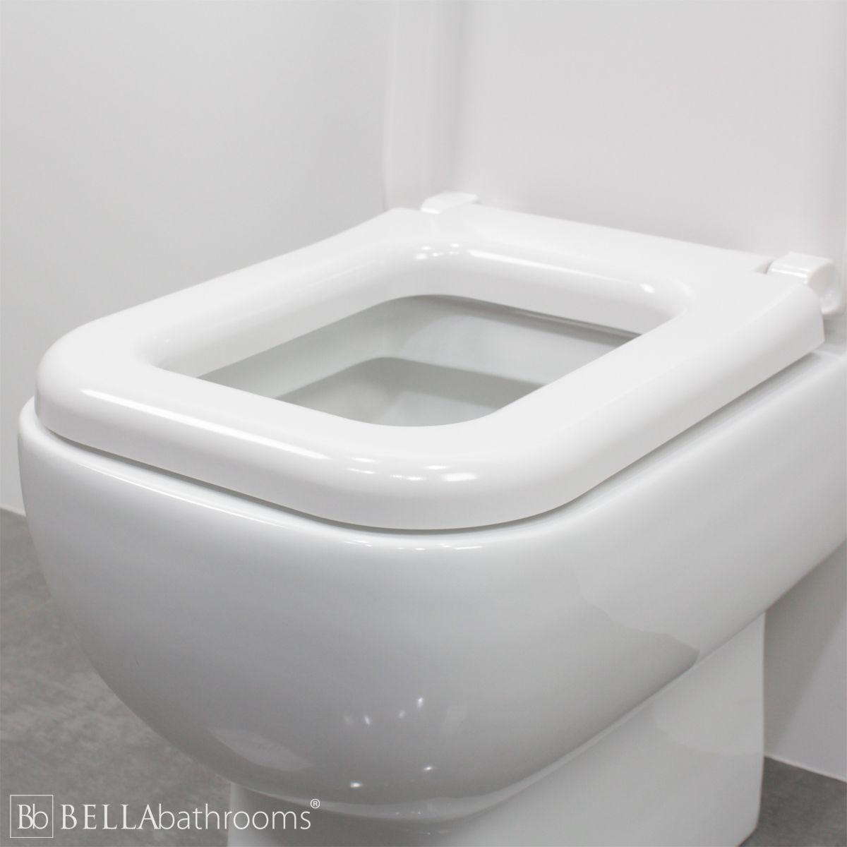 RAK Series 600 Standard Wrap Over Toilet Seat Rim
