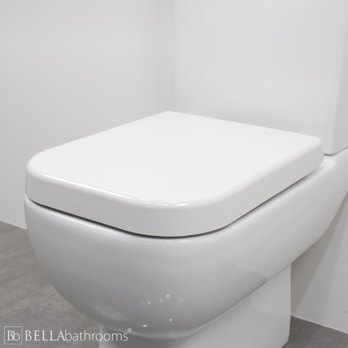 RAK Series 600 Standard Wrap Over Toilet Seat