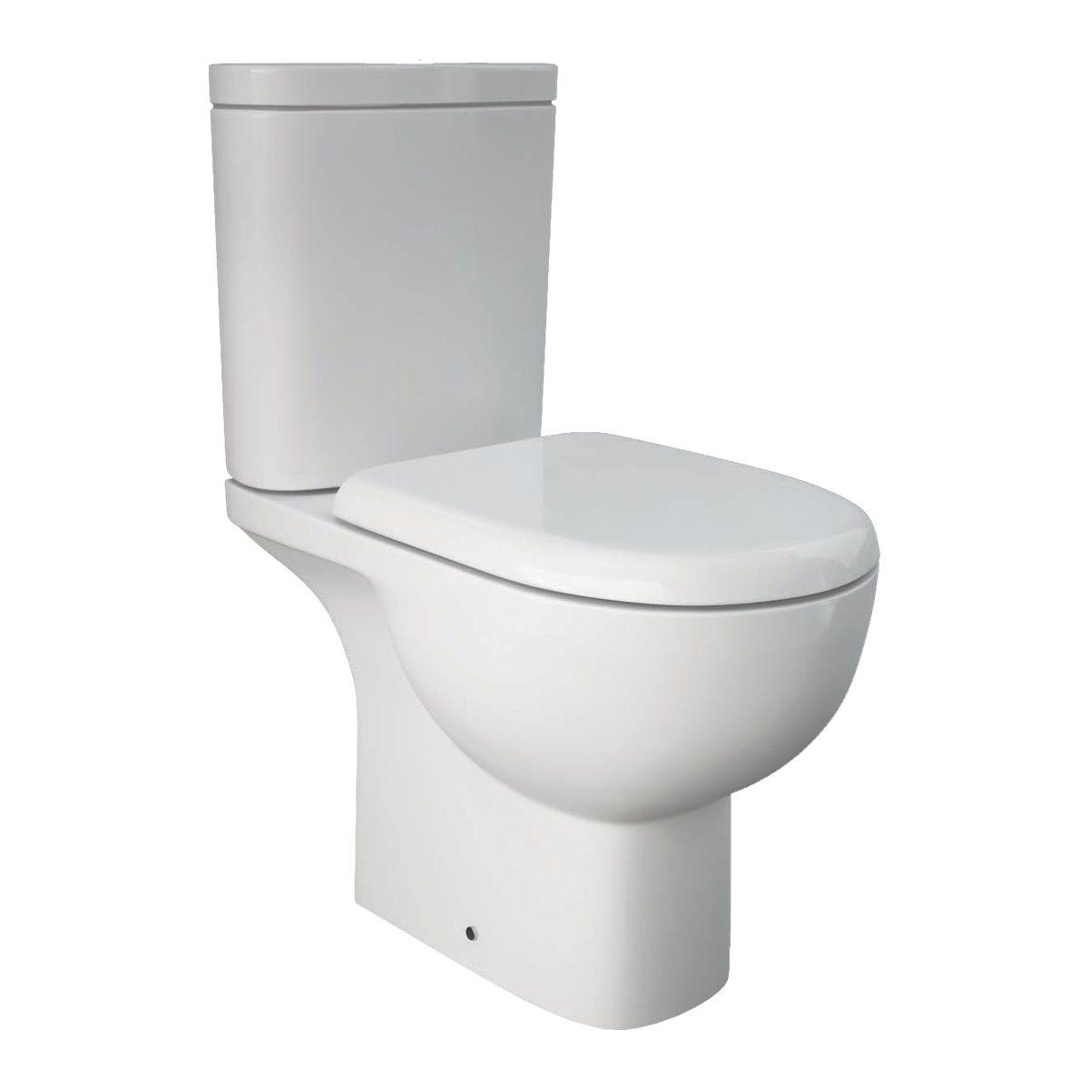RAK Tonique Close Coupled Open Back Toilet
