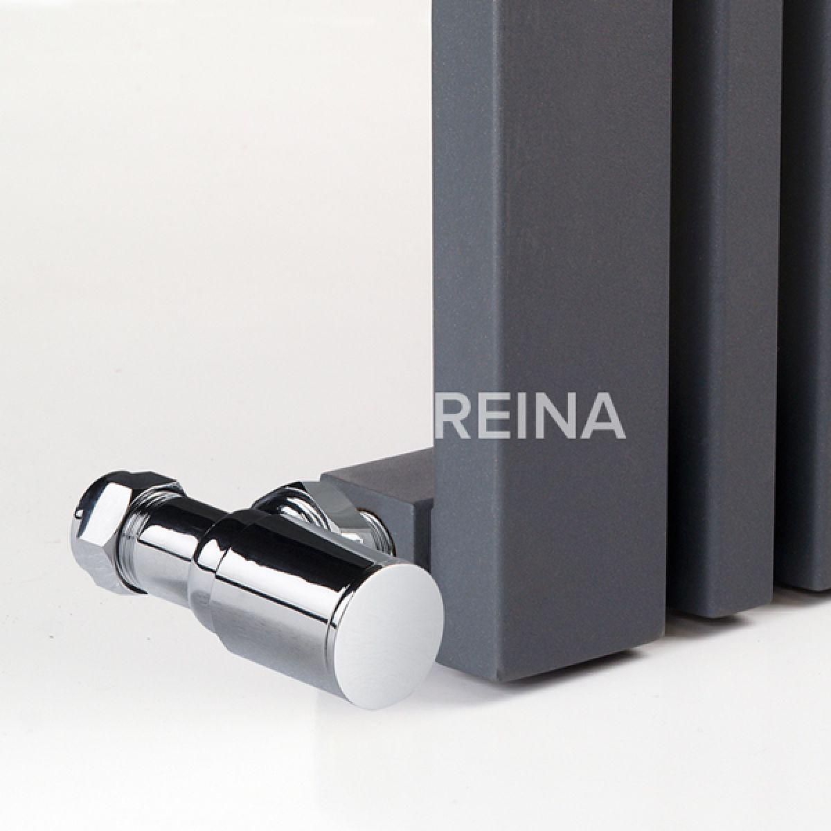 Reina Bonera Horizontal Anthracite Designer Column Radiator Detail