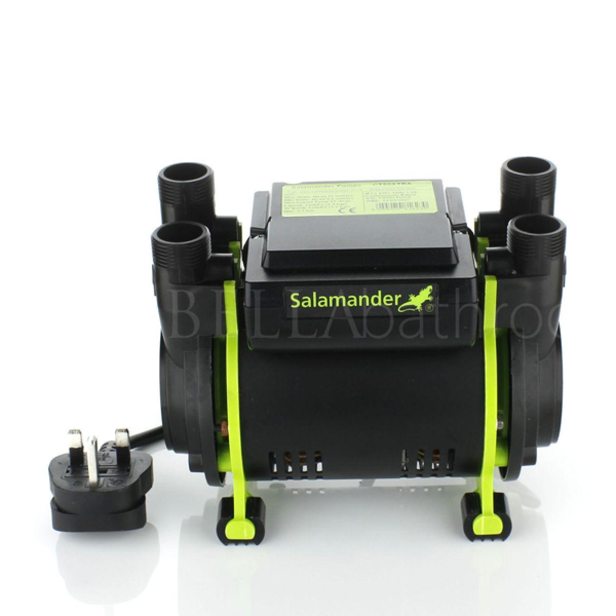 Salamander CT 50 Xtra 1.5 Bar Twin Shower Pump Front
