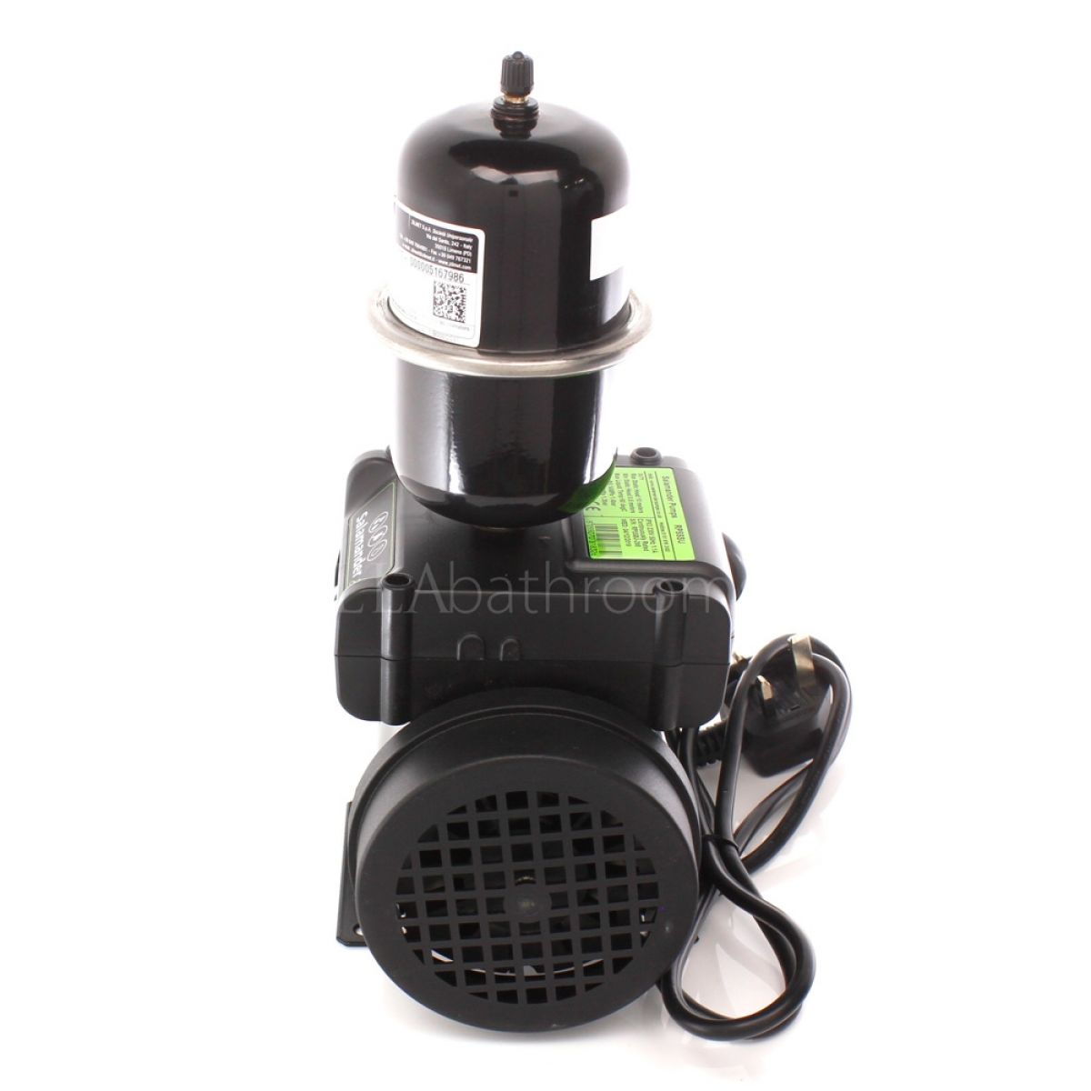 Salamander RP55SU 1.6 Bar Single Universal Shower Pump Right Side