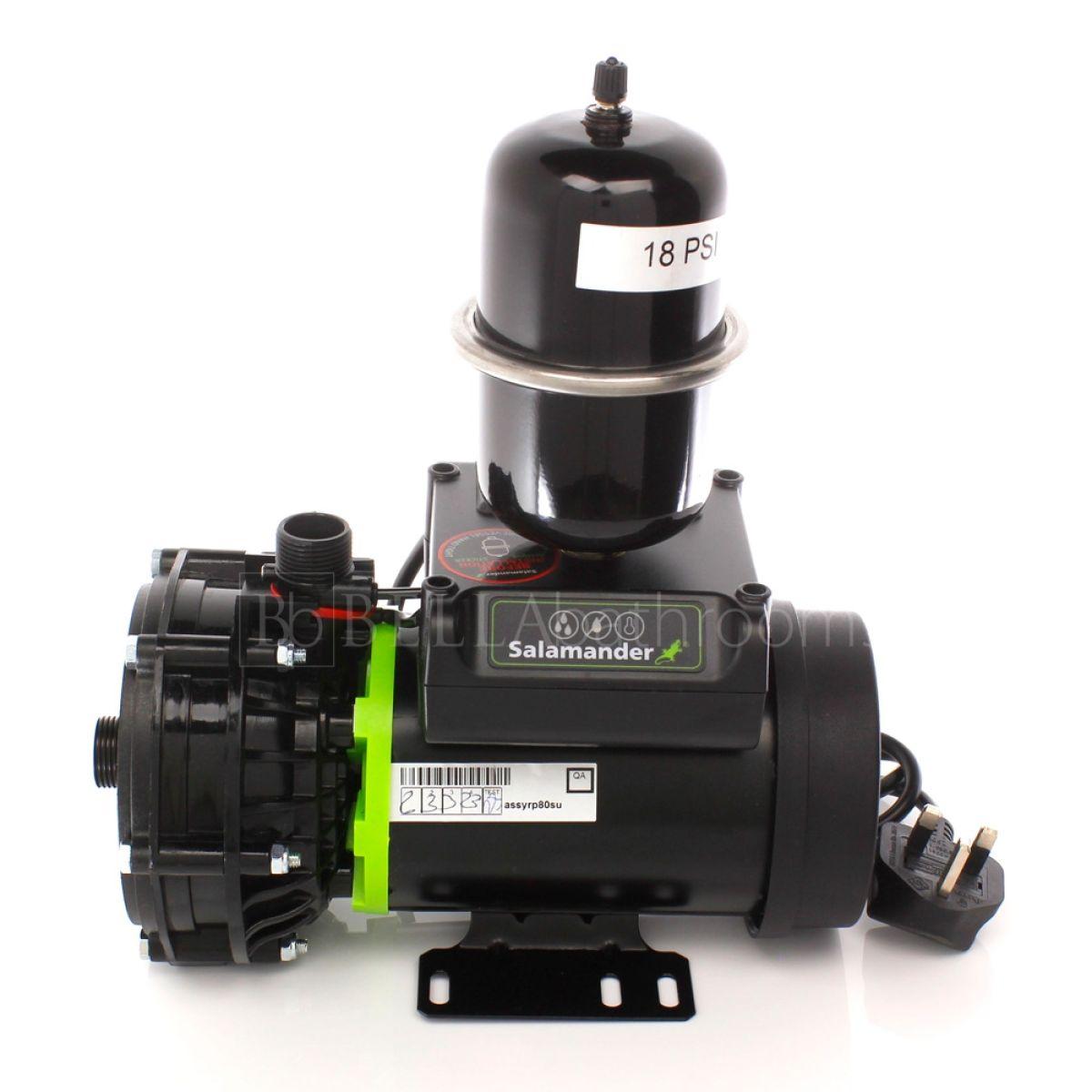 Salamander RP80SU 2.4 Bar Single Universal Whole House Shower Pump Front