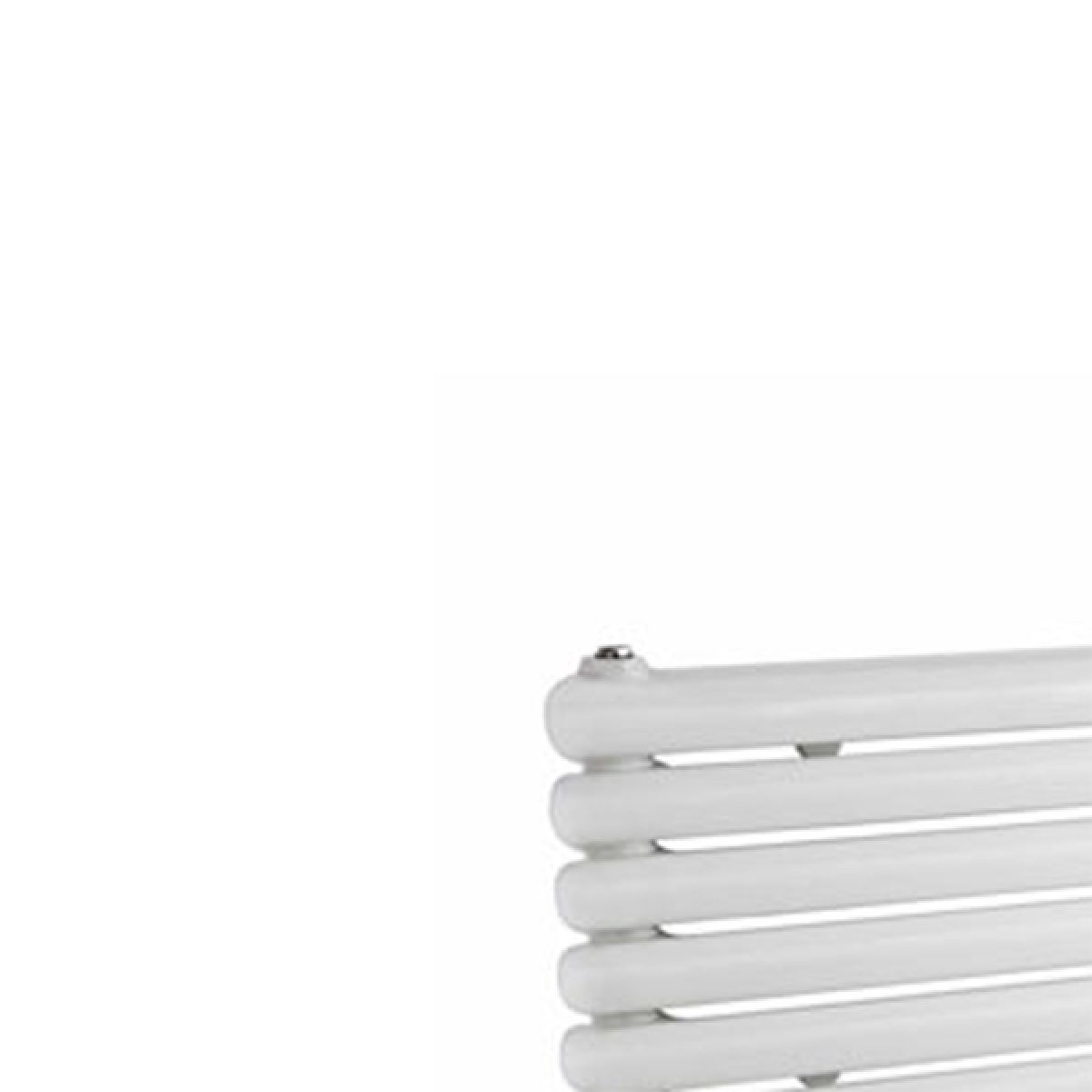 Hudson Reed Salvia White Double Panel Horizontal Column Designer Radiator Detail 1