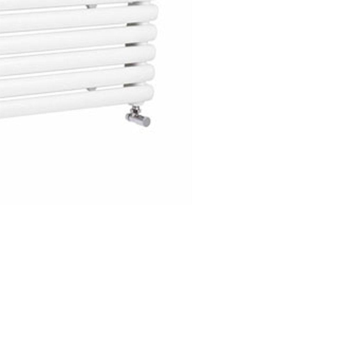 Hudson Reed Salvia White Double Panel Horizontal Column Designer Radiator Detail 2