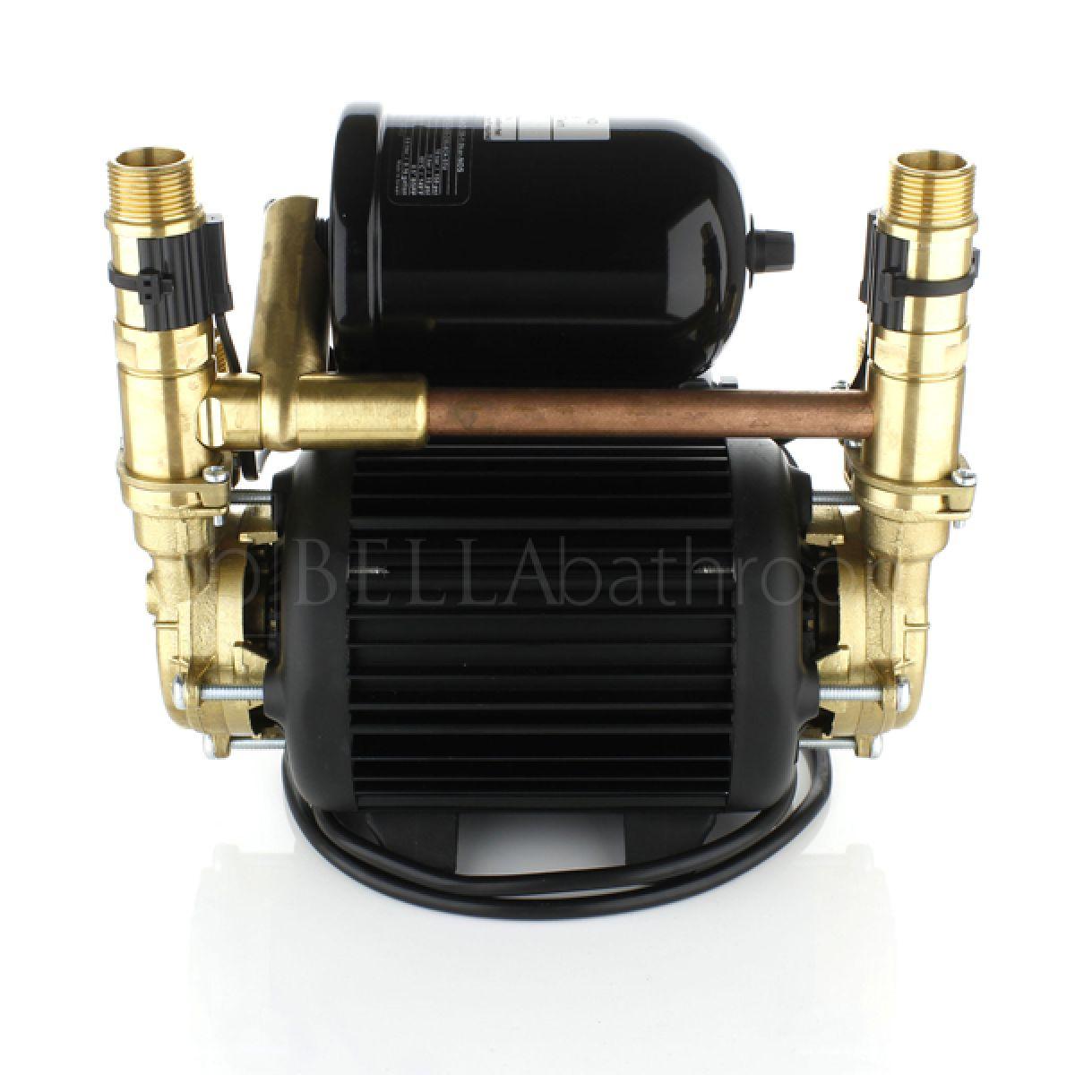 Stuart Turner 46480 Monsoon Universal Twin 2.0 Bar Negative Head Pump Back