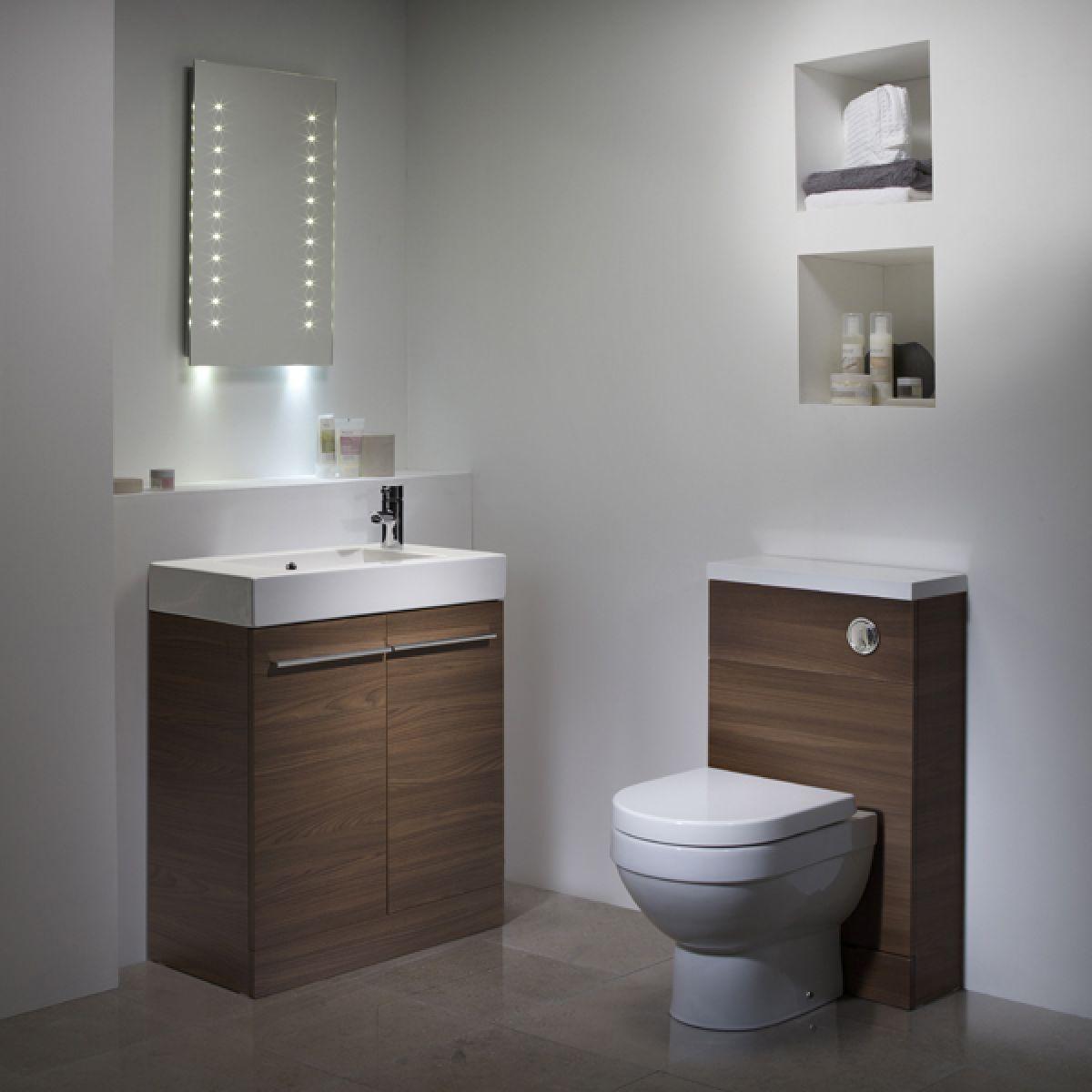 Tavistock Kobe Walnut Bathroom Furniture Lifestyle