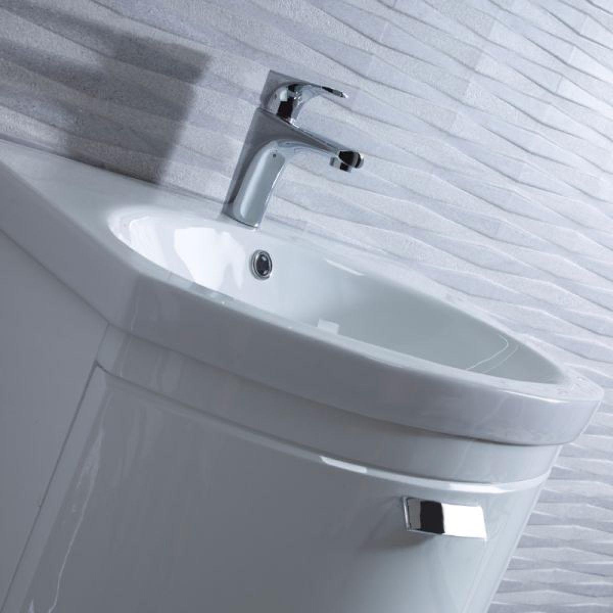 Tavistock Tempo Gloss White Freestanding Vanity unit 650mm