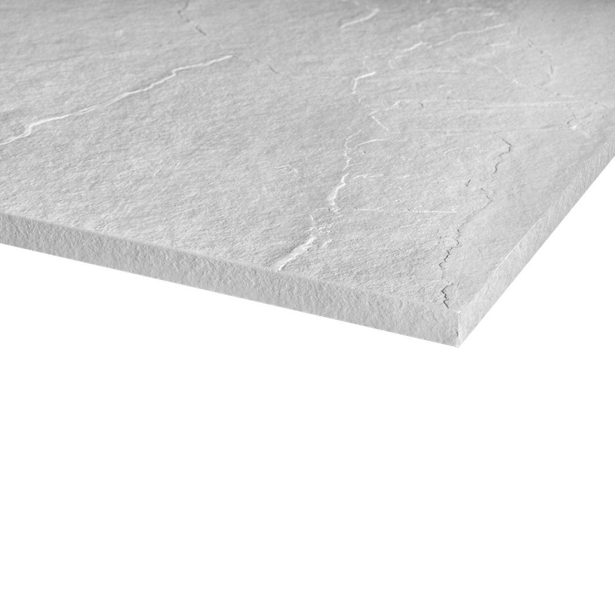 Merlyn Truestone Fossil Grey Rectangular Shower Tray 1400 x 800mm