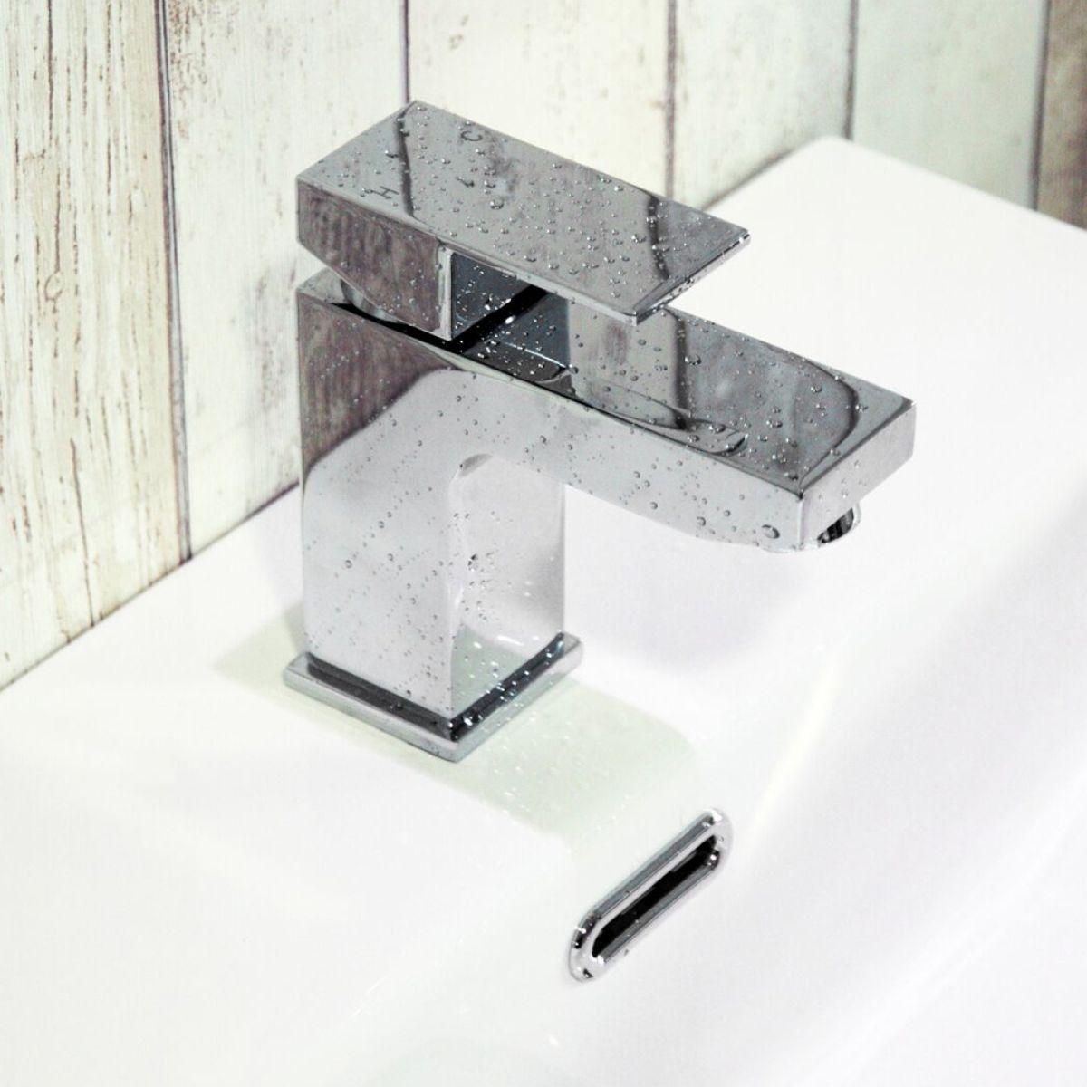 Zenith Form Mono Basin Mixer Tap Lifestyle