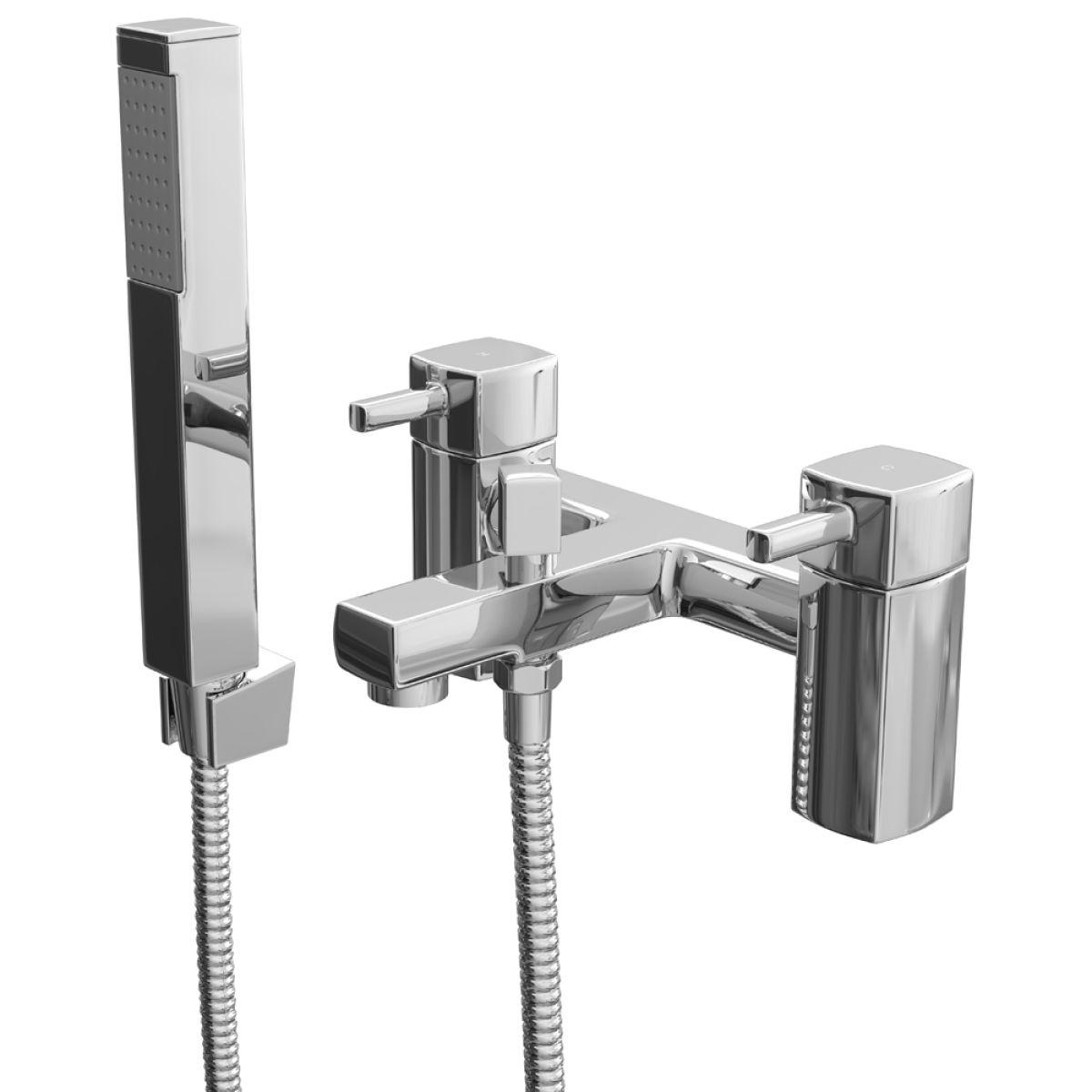 Zenith Nero Bath Shower Mixer Tap