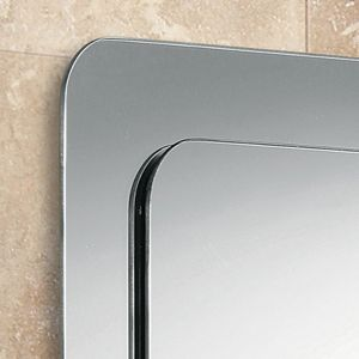 Almo Bathroom Mirror Detail
