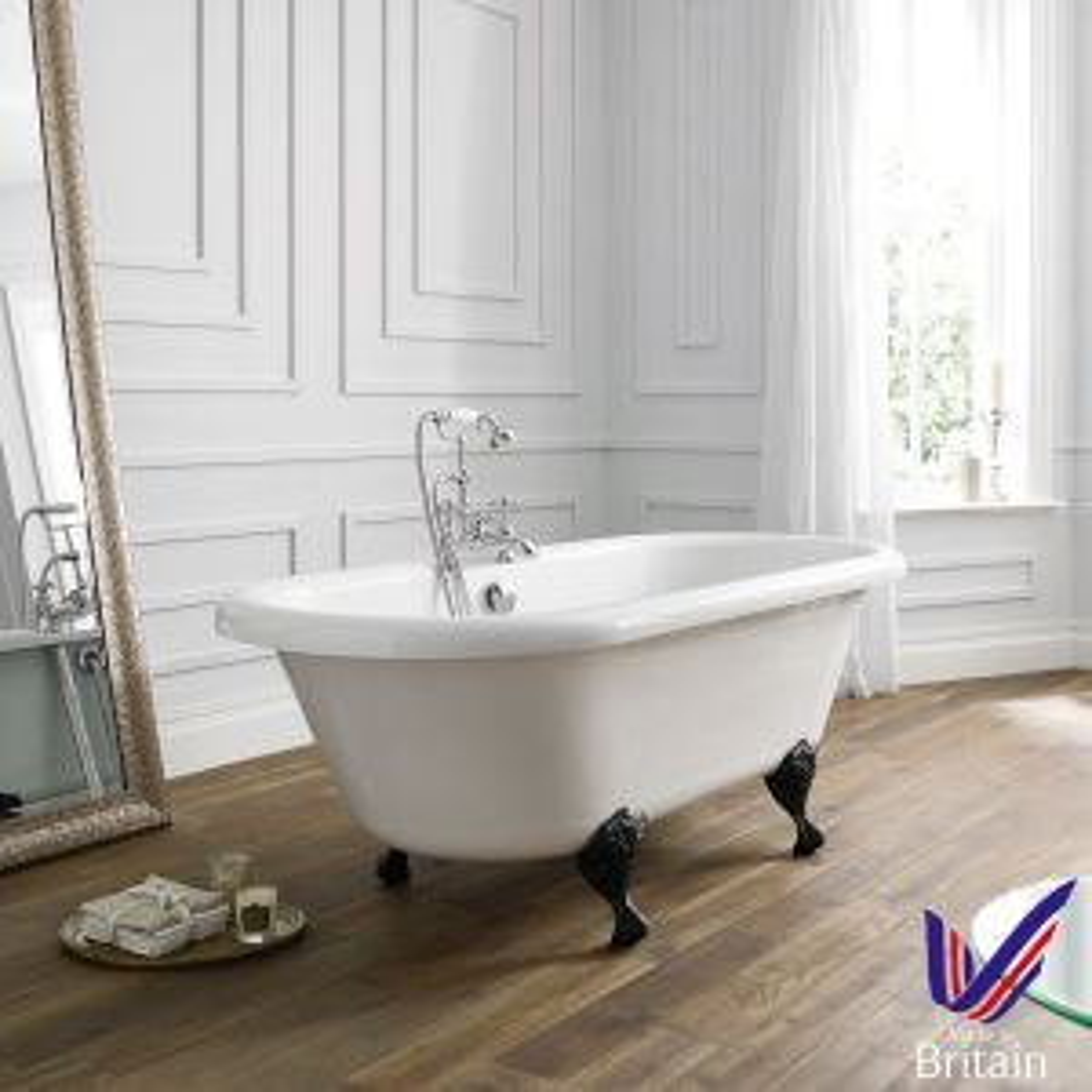 April Skipton Double Ended Freestanding Bath 1700mm