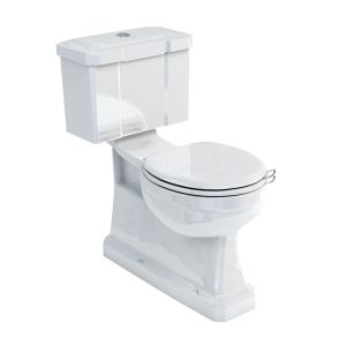 Burlington Close Coupled Toilet with Slimline Bottom Entry Cistern