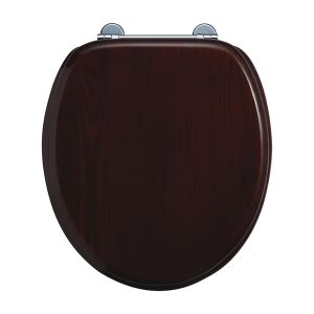 Burlington Wooden Mahogany Toilet Seat