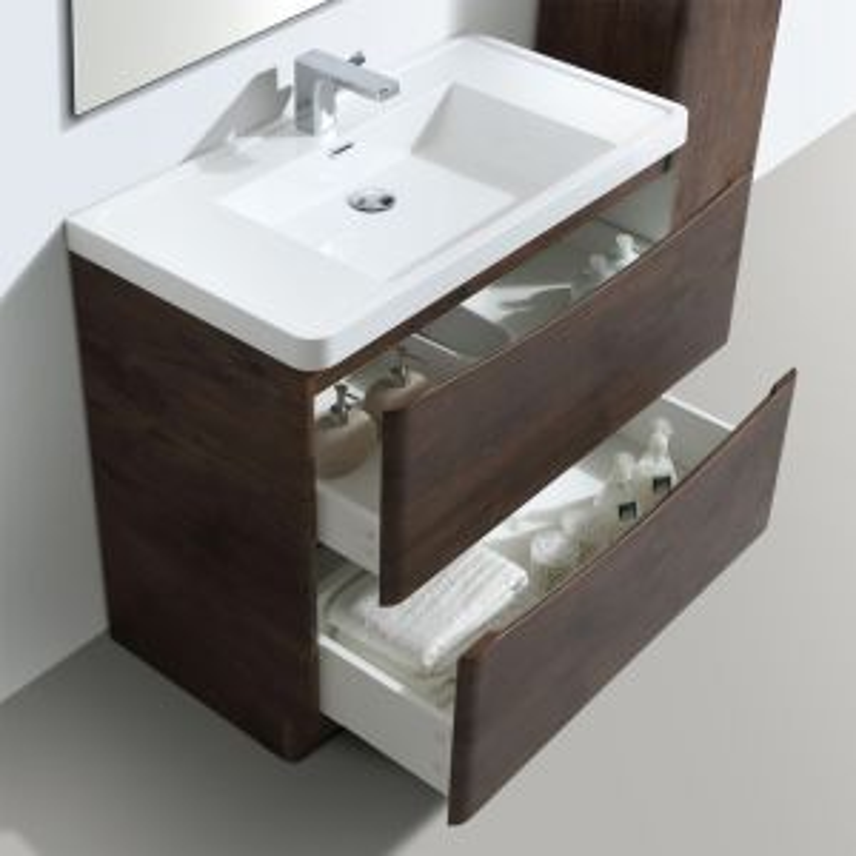 Bali Chestnut Vanity Unit 900mm