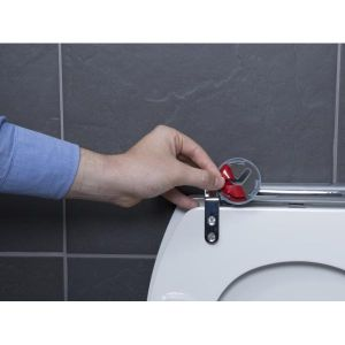 Croydex Lugano Soft Close Toilet Seat Hinge